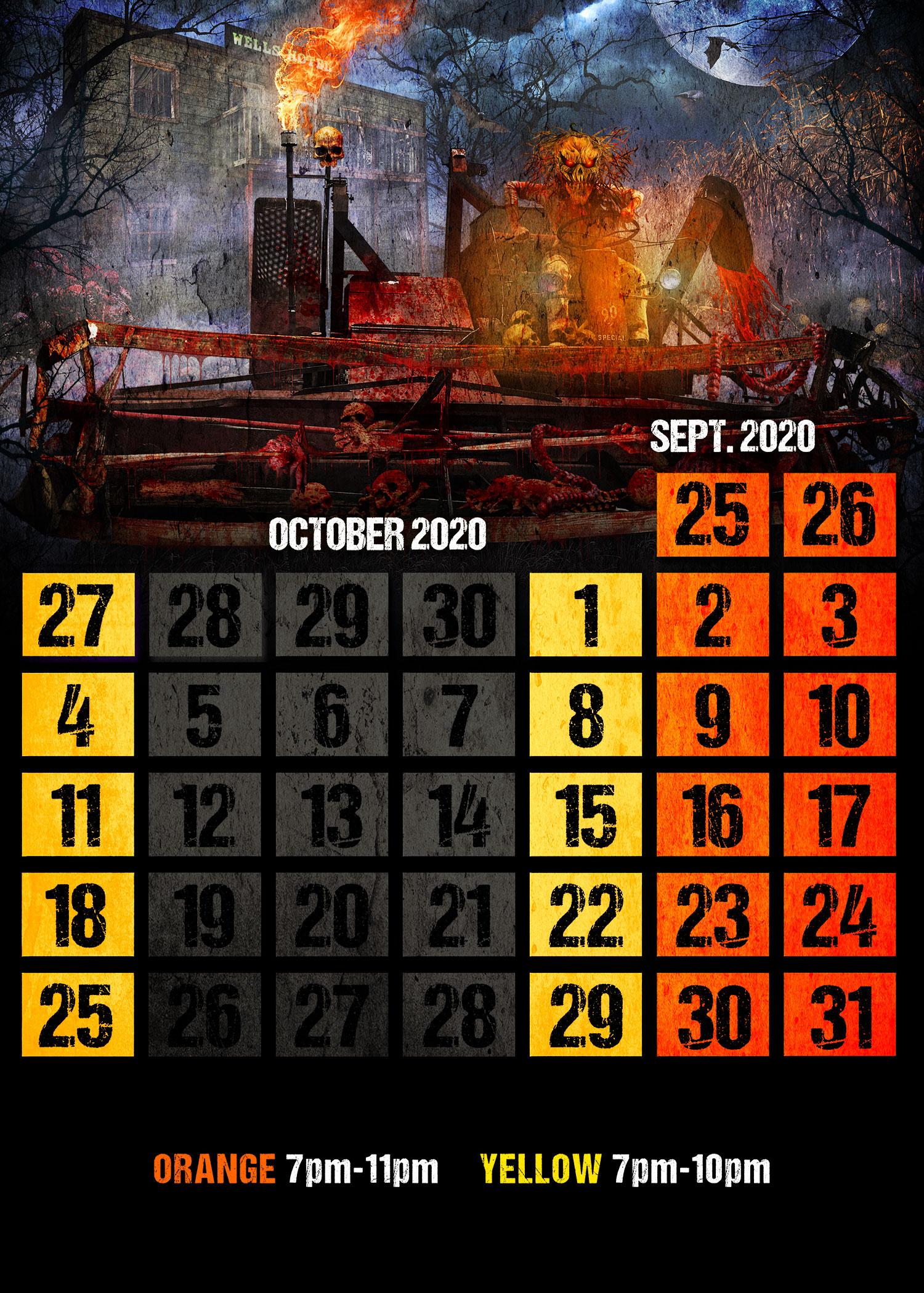 terror-in-the-corn-calendar 2020